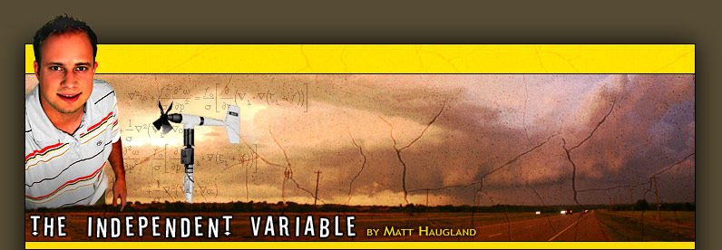 The Independent Variable - Matt Haugland